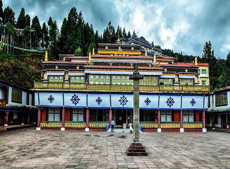 Rumtek Monastery: best places to visit in Sikkim in December