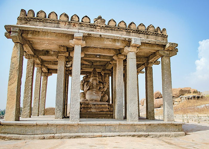 Sasivekalu Temple in Hampi