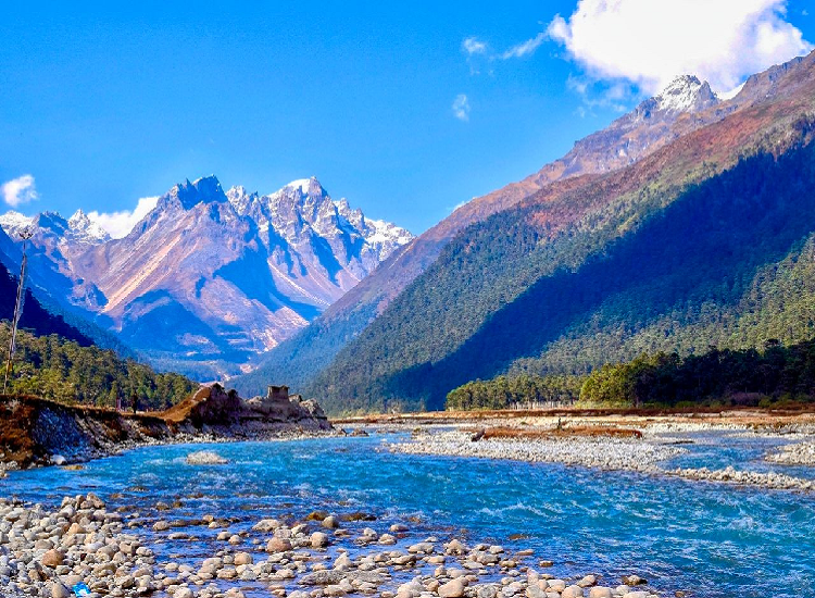 Yumthang Valley is best sikkim tourist places