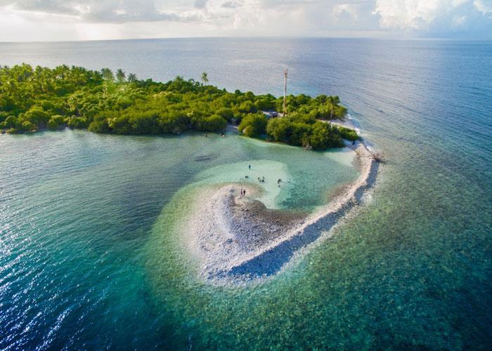 Addu Atol Island in Male