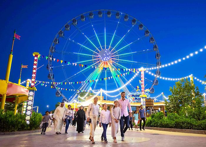 Enjoy various fun activities at Dubai Parks & Resorts