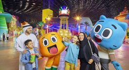 Enjoy at IMG World of Adventure in Dubai with Kids