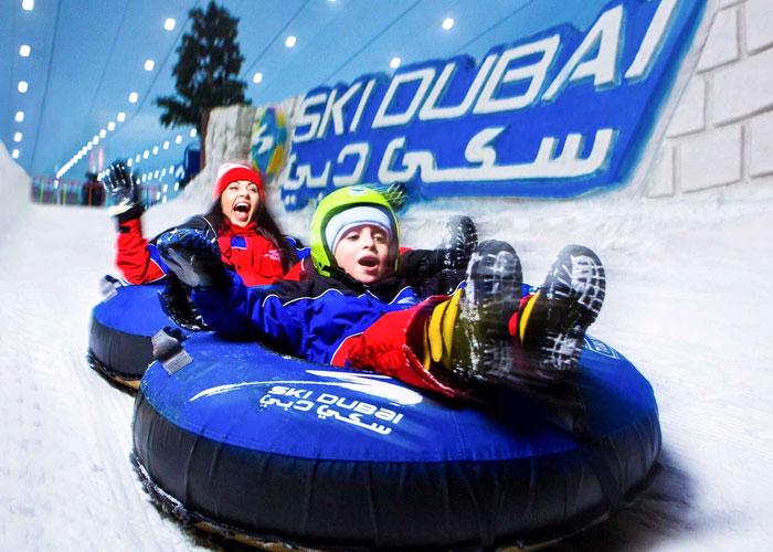 Enjoy Snow at Ski Dubai
