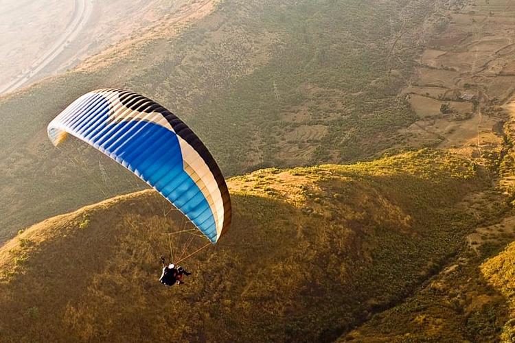 Paragliding in Vagamon